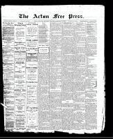 Acton Free Press (Acton, ON)16 Feb 1911
