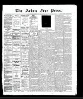 Acton Free Press (Acton, ON)2 Mar 1911