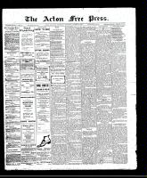 Acton Free Press (Acton, ON)16 Mar 1911
