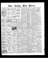 Acton Free Press (Acton, ON)23 Mar 1911