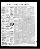 Acton Free Press (Acton, ON)30 Mar 1911