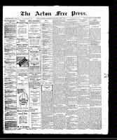 Acton Free Press (Acton, ON)6 Apr 1911