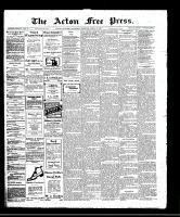 Acton Free Press (Acton, ON)13 Apr 1911