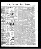 Acton Free Press (Acton, ON)20 Apr 1911