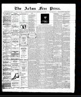 Acton Free Press (Acton, ON)27 Apr 1911