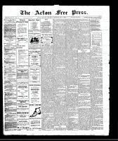 Acton Free Press (Acton, ON)4 May 1911