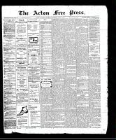 Acton Free Press (Acton, ON)1 Jun 1911