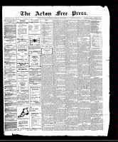 Acton Free Press (Acton, ON)8 Jun 1911