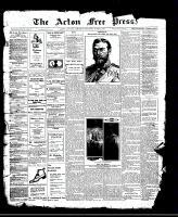 Acton Free Press (Acton, ON)22 Jun 1911