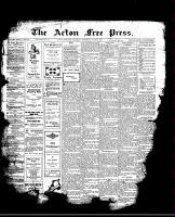 Acton Free Press (Acton, ON)29 Jun 1911