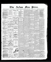 Acton Free Press (Acton, ON)17 Aug 1911