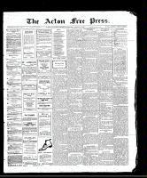 Acton Free Press (Acton, ON)24 Aug 1911