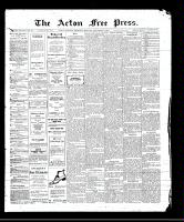 Acton Free Press (Acton, ON)7 Sep 1911