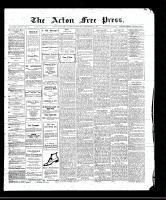 Acton Free Press (Acton, ON)21 Sep 1911