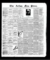 Acton Free Press (Acton, ON)28 Sep 1911
