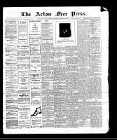 Acton Free Press (Acton, ON)19 Oct 1911