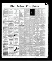 Acton Free Press (Acton, ON)26 Oct 1911