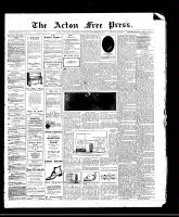 Acton Free Press (Acton, ON)2 Nov 1911