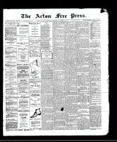 Acton Free Press (Acton, ON)16 Nov 1911