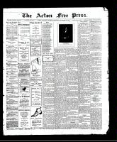 Acton Free Press (Acton, ON), November 23, 1911