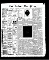 Acton Free Press (Acton, ON)30 Nov 1911