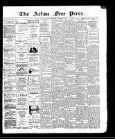 Acton Free Press (Acton, ON), December 7, 1911