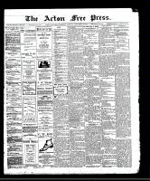 Acton Free Press (Acton, ON), December 14, 1911