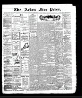 Acton Free Press (Acton, ON)28 Dec 1911