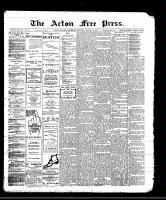 Acton Free Press (Acton, ON), January 4, 1912