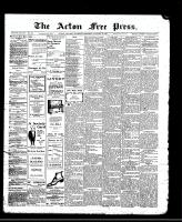Acton Free Press (Acton, ON), January 18, 1912