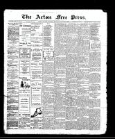 Acton Free Press (Acton, ON), January 25, 1912