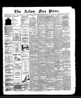 Acton Free Press (Acton, ON), March 14, 1912