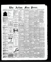 Acton Free Press (Acton, ON)21 Mar 1912