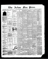 Acton Free Press (Acton, ON)28 Mar 1912