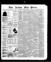 Acton Free Press (Acton, ON), May 2, 1912