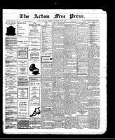 Acton Free Press (Acton, ON)16 May 1912