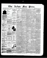 Acton Free Press (Acton, ON)23 May 1912