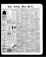 Acton Free Press (Acton, ON)30 May 1912