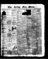 Acton Free Press (Acton, ON)4 Jul 1912