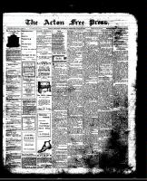 Acton Free Press (Acton, ON)18 Jul 1912