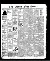 Acton Free Press (Acton, ON)8 Aug 1912