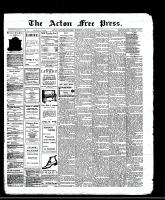 Acton Free Press (Acton, ON)22 Aug 1912