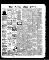 Acton Free Press (Acton, ON)19 Sep 1912