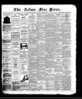 Acton Free Press (Acton, ON)3 Oct 1912