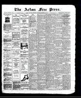 Acton Free Press (Acton, ON)10 Oct 1912