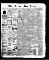 Acton Free Press (Acton, ON)24 Oct 1912