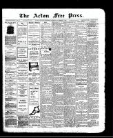 Acton Free Press (Acton, ON)7 Nov 1912