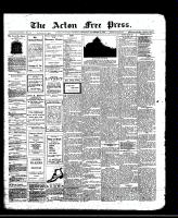 Acton Free Press (Acton, ON)21 Nov 1912