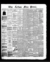 Acton Free Press (Acton, ON)19 Dec 1912