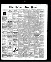 Acton Free Press (Acton, ON)6 Feb 1913